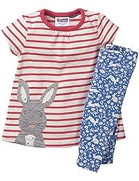ee0ac1142d22 Girls Cotton Cute Print Long Sleeve Clothing Set