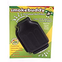 Smoke Buddy Junior Black Whole Box of 12 Personal Air Filter / Purifier Brand New with Free Im Baked Bro & Doob Tubes Sticker