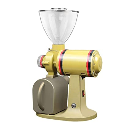 KTM Amoladora de café eléctrica Comercial Profesional Italiano Amoladora eléctrica moledora de habas de café cuantitativa