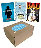 img - for The Perfect Gift for Boys 8-12 Who Love Funny Stories: Bad Unicorn; Doctor Proctor's Fart Powder; Spy School book / textbook / text book