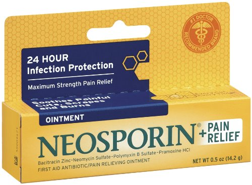 Neosporin Plus Pain Relief Ointment, 0.5 Ounce (Pack of 72) by Neosporin