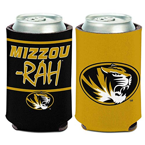 WinCraft Missouri Tigers NCAA Team Pride Can Cooler - Team Color,