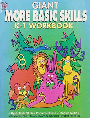 - Giant More Basic Skills K-1 Workbook
