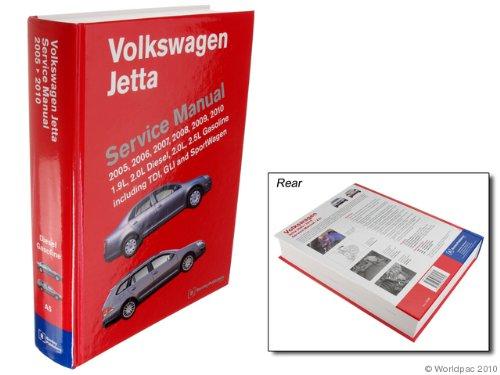 Bentley W0133-1856409-BNT Paper Repair Manual VW Jetta (A5)