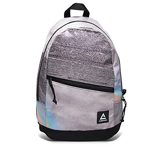 Rareform Recycled Waterproof Billboard turned Backpack with Durable Padded Back Straps (Gray...