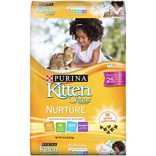 Purina Kitten Chow Nurturing Formula Dry Cat Food 14lb For Sale