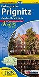ADFC-Regionalkarte Radlerparadies Prignitz mit Tagestouren-Vorschlägen, 1:75.000, reiß- und wetterfest, GPS-Tracks Download: Zwischen Elbe und Müritz (ADFC-Regionalkarte 1:75000)