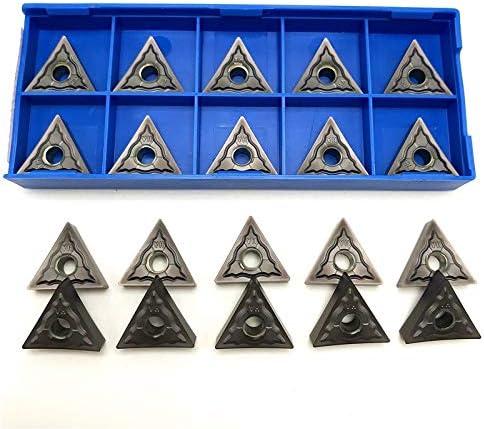 Drehbank TNMG160404 TNMG160408 HA PC9030 Externe Drehwerkzeug Hartmetalleinsatz for Edelstahl TNMG 160404/08 Drehwerkzeuge (Angle : TNMG160404 HA PC9030, Insert Width(mm) : 20PCS)