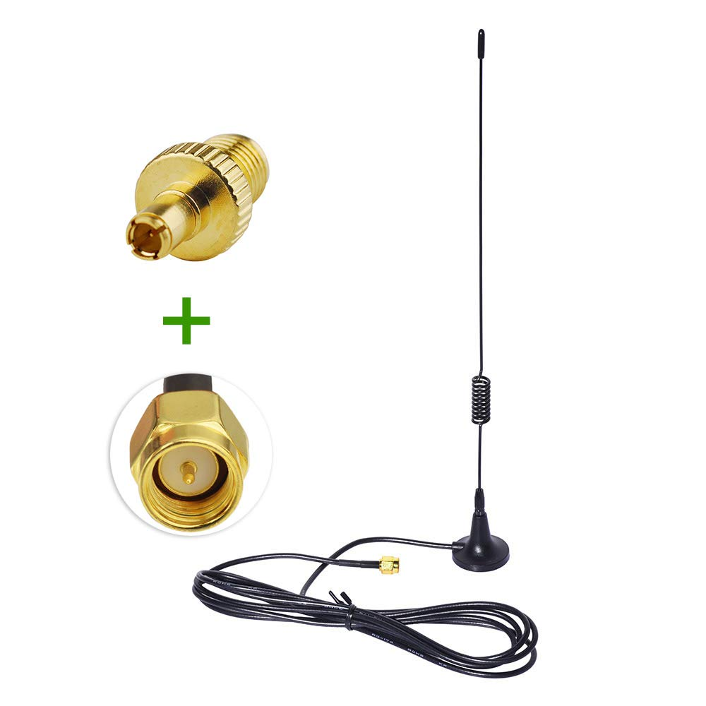 Wlaniot 4G LTE Antenna Magnet Antenna 5dBi 700-2600MHZ Omni Directional Strong Magnetic Base SMA Male Connector 6.5ft for WiFi Router Mobile Broadband Outdoor Signal Booster