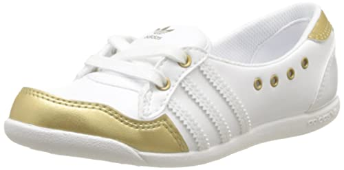 Adidas Originals Forum Slipper K-3 - Zapatillas de Tela Infantil, Color Blanco, Talla 30: Amazon.es: Zapatos y complementos