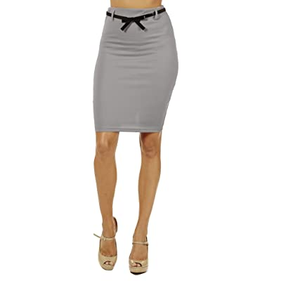 Women's High Waist Pencil Skirt