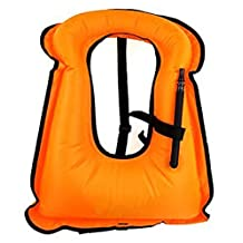 iRunzo Snorkel Vest - Inflatable Buoyancy Compensator for Adult Kids Diving Swimming Water Safety Flotation Devices