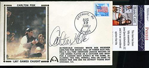 CARLTON FISK PSA DNA Autograph 1988 FDC Hand Signed ()