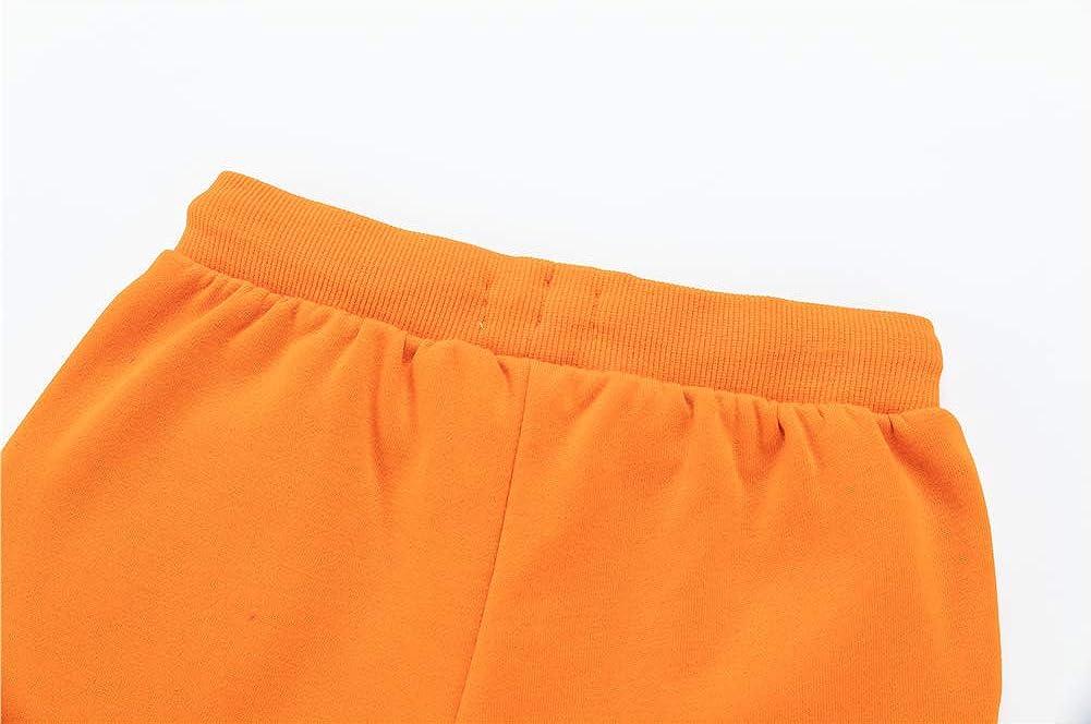 Age 3-12 Years UNACOO Kids Fleece Sweatpants Girls and Boys Active Basic Jogger Pants