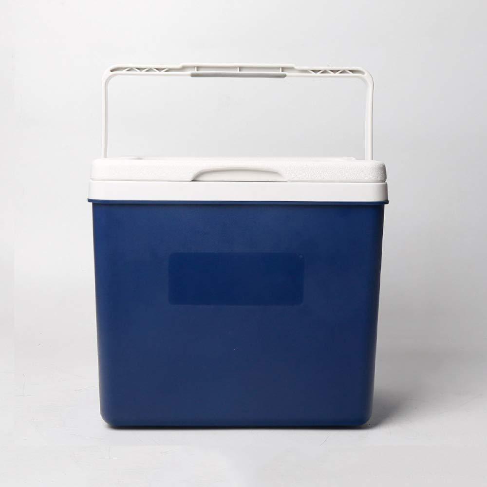 Ambiguity Kühlboxen,26L Outdoor Isolierung Box Auto kommerzielle tragbaren Kühlschrank
