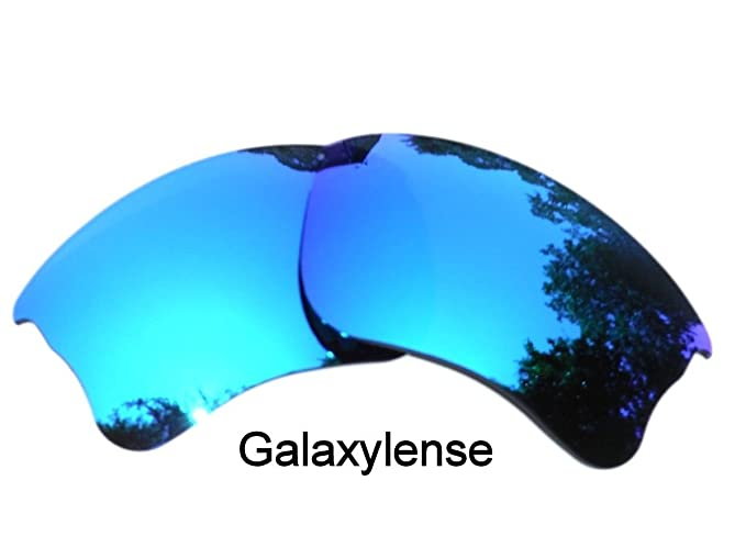 13c2e179ce3 Image Unavailable. Image not available for. Colour  Galaxy Replacement  Lenses For Oakley Flak Jacket XLJ Sunglasses Ice Blue Polarized