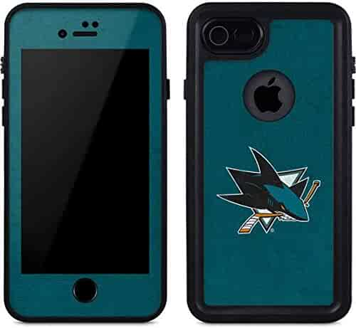 db4d1f41d0a San Jose Sharks iPhone 7 Case - San Jose Sharks Distressed | NHL X Skinit  Waterproof