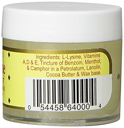 Basic Organics L-Lysine Lip Ointment, 0.875 oz (2 Pack) by Basic Organics