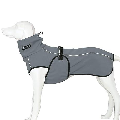 Liboom Ropa para Mascotas Chaqueta Impermeable para Perros Abrigos de Invierno Otoño Cálido Chaqueta con Correa