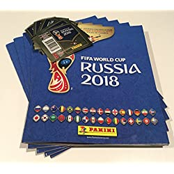 2018 FIFA World Cup Russia 1 Album Soft Cover and 5 Sticker packs(Total 25 Stickers)