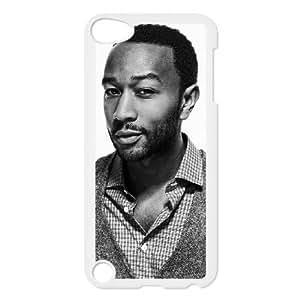iPod Touch 5 Case White John Legend Design Custom Phone Case Cover XPDSUNTR25113