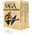Saga Six Pack 3 - The Story of Burnt Njál, Magnus the Good, Song of Atli, The Hell-Ride of Brynhild, Saga of Olaf Kyrre and Lay of Hamdir (Illustrated)