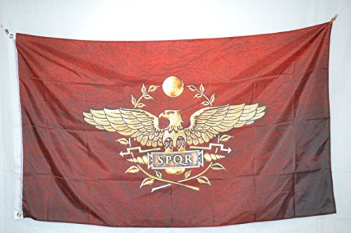 Roman Empire Senate and People of Rome Flag Banner 3x2