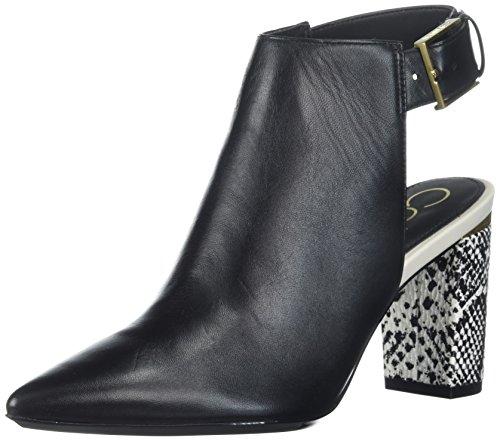Calvin Klein Women's Evenah Ankle Boot, Black, 10 Medium US by Calvin Klein