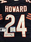 Jordan Howard Autographed Signed Chicao Bears Custom Jersey Certified Authentic Beckett Sig Dog Witnessed Hologram & Coa Card