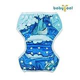 babygoal Reusable Swim Diapers,One Size Adjustable