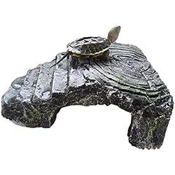 Reptile Cave Reptile Rock Hide Habitat Decor Hiding Spot For Small Turtles Reptiles Amphibians 3#