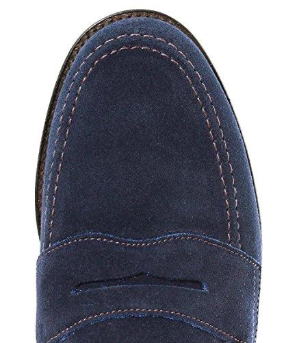 Eton Loafers Uomo Loake Blu Marina Loake Marino Uomo Scamosciato wOPFISUq