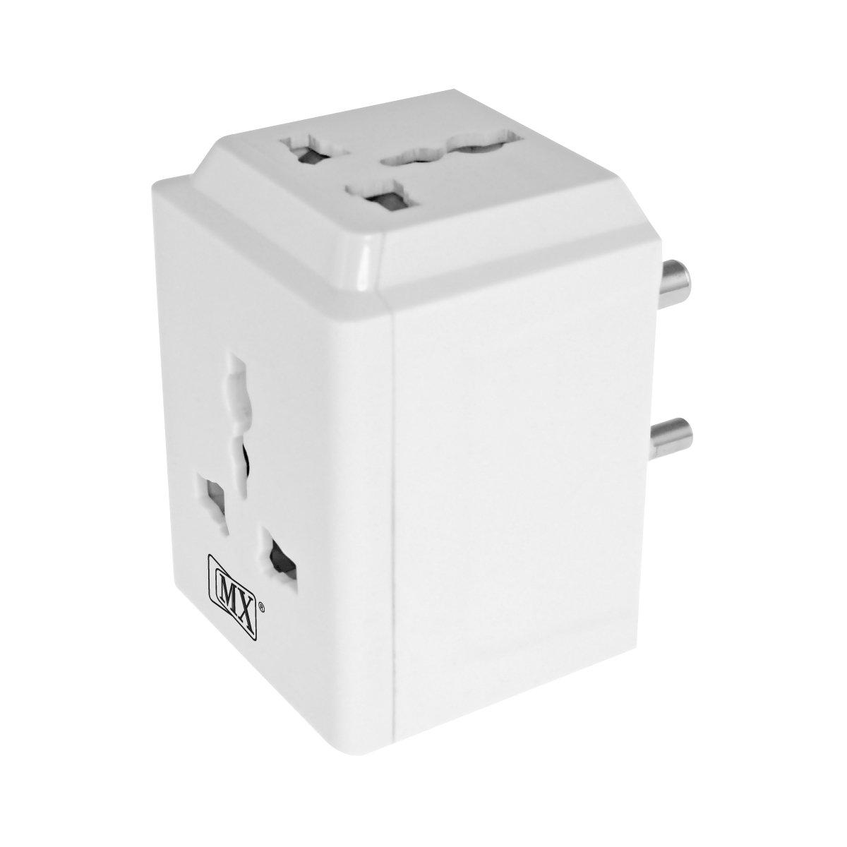 MX 3865 3 PIN 3 Way Universal Multi Plug