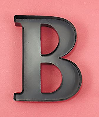 "Personalized Letter ""B"" Metal Wall Wine Cork Holder"