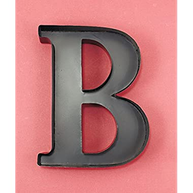 Personalized Letter  B  Metal Wall Wine Cork Holder