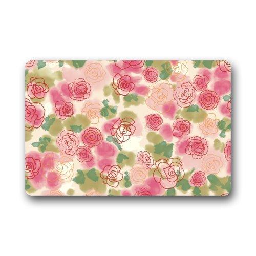 Top Fabric & Non-Slip Rubber Indoor/Outdoor Doormat Door ...