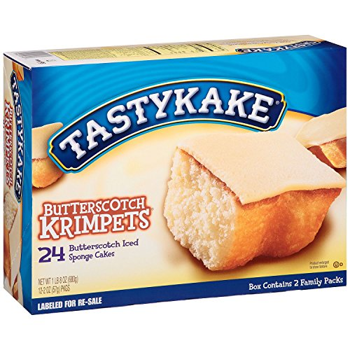 Tastykake Butterscotch Krimpets (24 ct.) (pack of - In Stores Philadelphia Center City