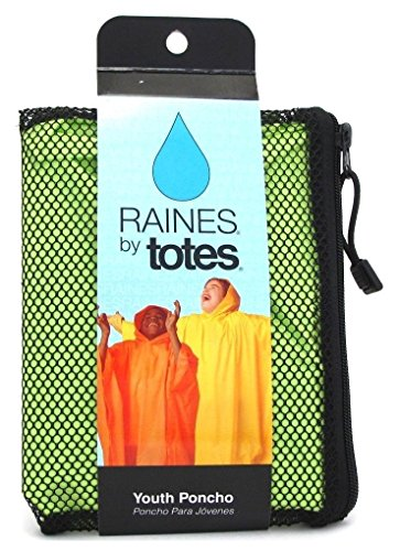 Raines Poncho Youth Assorted Colors
