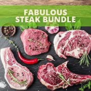 This bundle is all 100% grass fed and finished. It contains all of the best cuts for your grill! You will receive 2 ribeye steaks and 2 grass-fed t-bone steaks. We will also include 12-1/3 lb. hamburger patties. If you love to grill this bundle is fo...