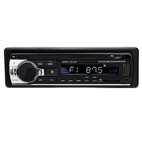 Mugast Reproductor MP3 de Coche 1 DIN Radio Bluetooth Llamadas ...
