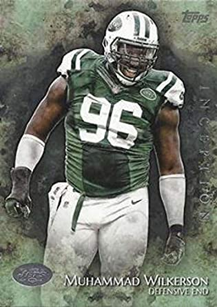 325b85a0b 2014 Topps Inception  85 Muhammad Wilkerson NY Jets NFL Football Card NM-MT