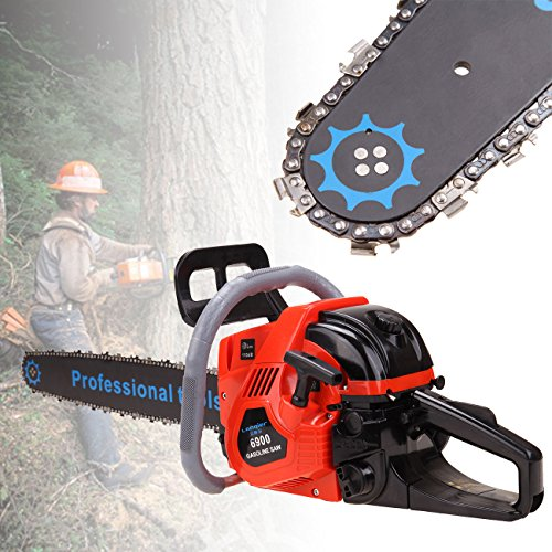 PanelTech 2000KW 52CC 2-Cycle 22'' Bar Gas Chainsaw Chain Saw w/ Aluminum Crankcase Gasoline by PanelTech