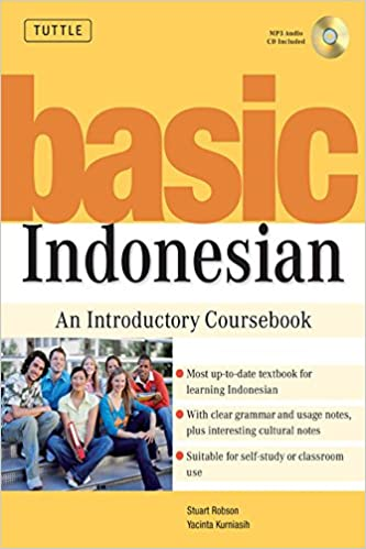 MP3 Audio CD Included Basic Indonesian: