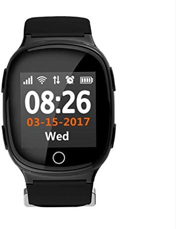 Deest Reloj GPS Seguimiento de Seguridad por WiFi Rastreador de ...