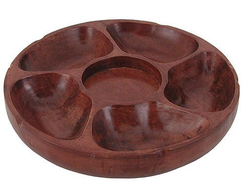 Update International  PP-512 Pu Pu Platter,12in,  5 Comp (12 Inch Platter)