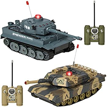 Amazon.com: Best Choice Products RC Battling Tanks Set of