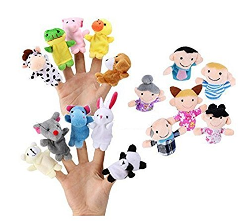 FunsLane Story Time Finger Puppets