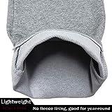 MAGCOMSEN Sweatpants for Men Open Bottom Taper