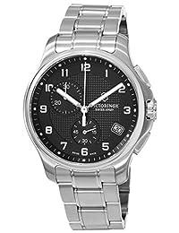 Victorinox Swiss Army Men's Officers 241592 Silver Stainless-Steel Swiss Quartz Watch