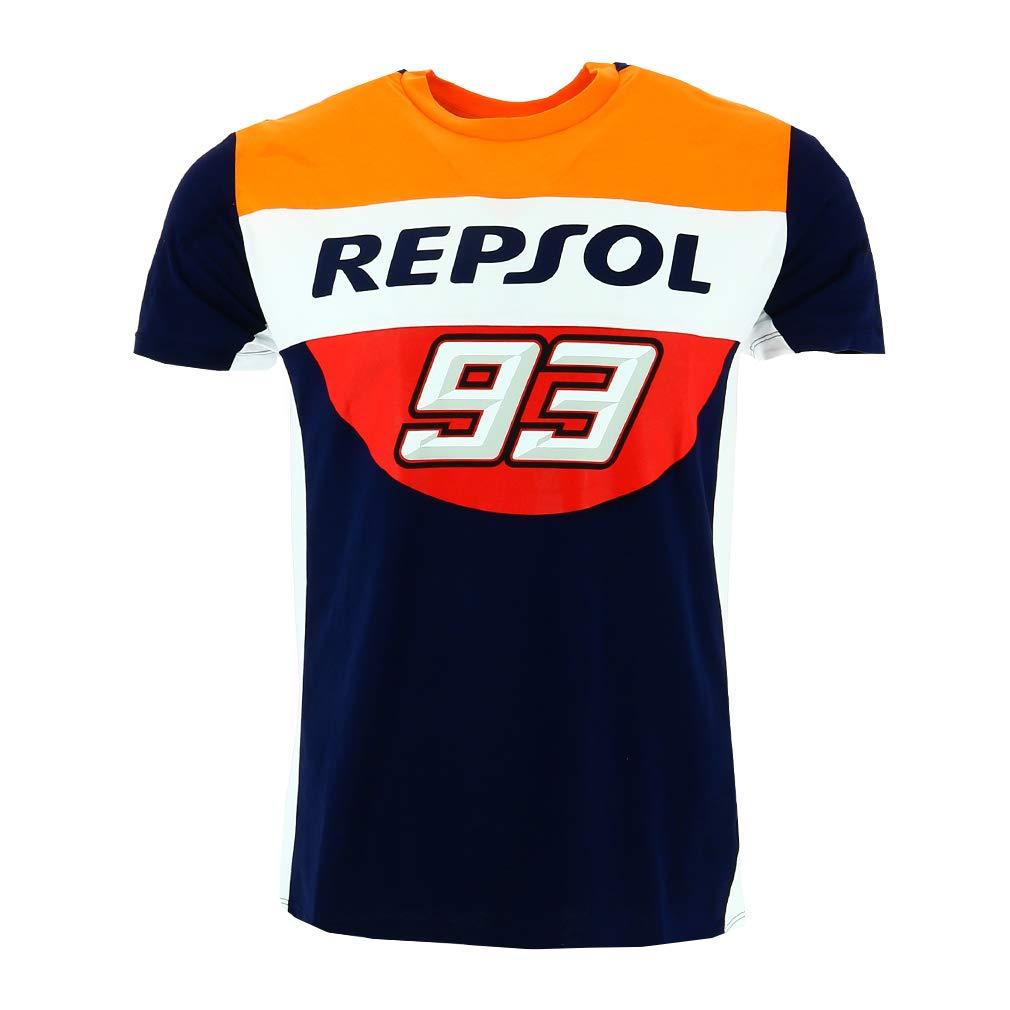 福袋 Honda Repsol Marc Marquez 93 Marquez 93 Moto GP Panel Blue Repsol T-shirt Official 2018 X-Large 112cm/44in Chest B079PXJMG8, JBS ショッピング:76c6a8b6 --- arianechie.dominiotemporario.com
